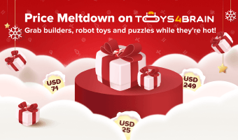 Season Sale, Finally! Save Up to 80% On STEM Toys